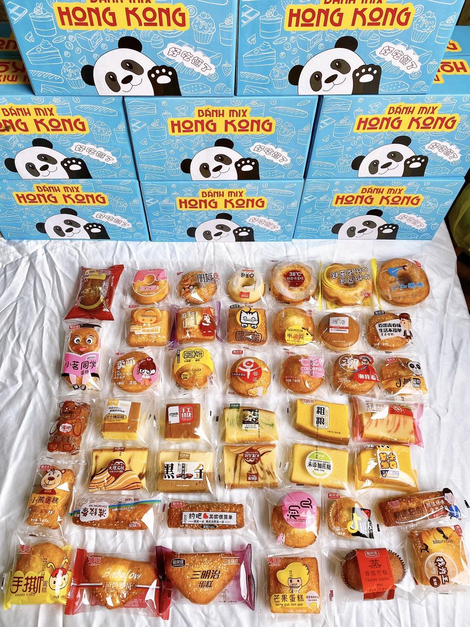 Bánh mix Hongkong hàng nội địa chất lượng cao của trung quốc
